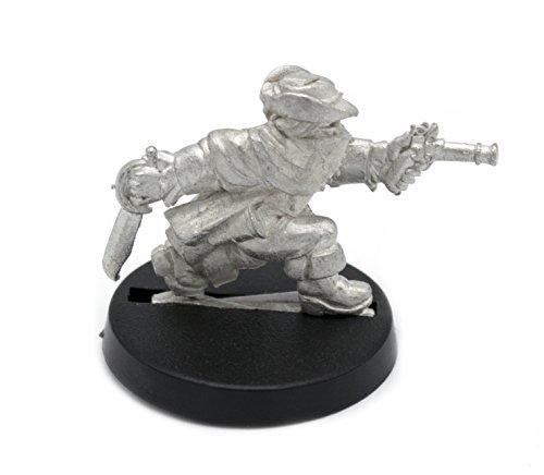 Stonehaven Dwarf Highwayman Miniature Figure (for 28mm Scale Table Top War Games) - Made in (Dwarf War Sword)