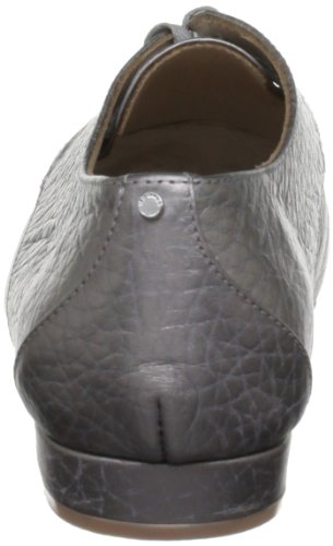 Ted Baker Kape, Damen Schnürhalbschuhe Grau (Grey Metallic Leather)