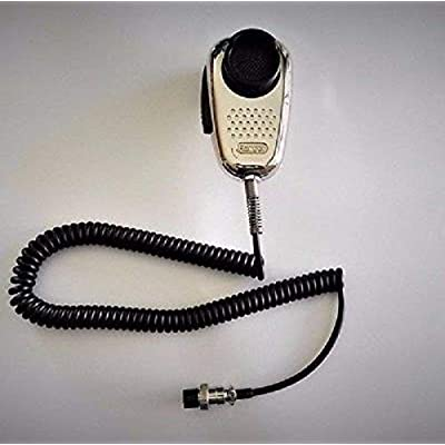 Ranger SRA-198 Chrome Edition Cb Ham Radio Noise Canceling Mic 4 Pin Wired: Sports & Outdoors