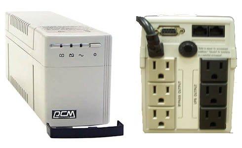 Powercom KIN-625CS, 625VA, 3+3 Outlets by Powercom