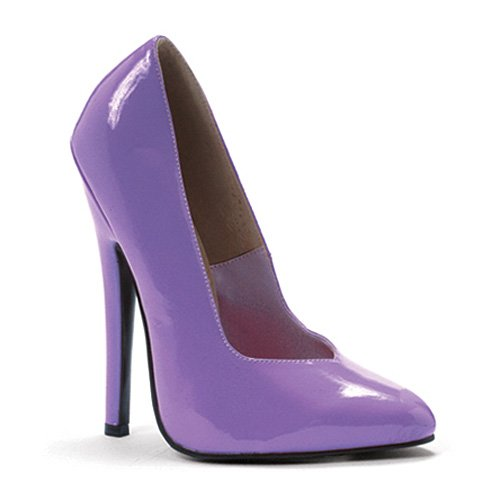 Heel 6 Purple Inch Women's Fetish Ellie Pump Shoes xP1wCnEI