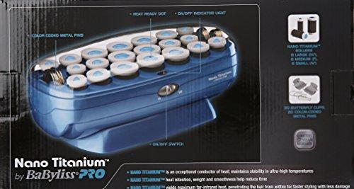 BaBylissPRO Nano Titanium 20-Roller Hairsetter by BaBylissPRO (Image #6)
