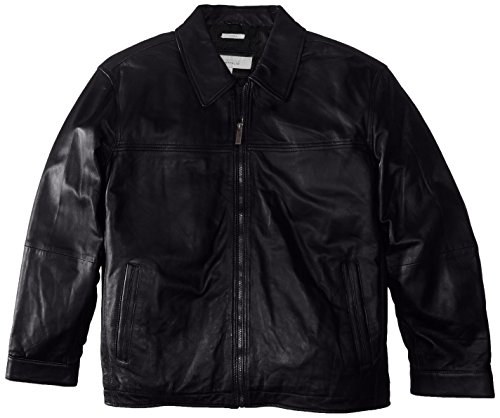 Perry Ellis Mens Leather Jacket