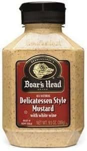 Mustard: Boar's Head Deli Style