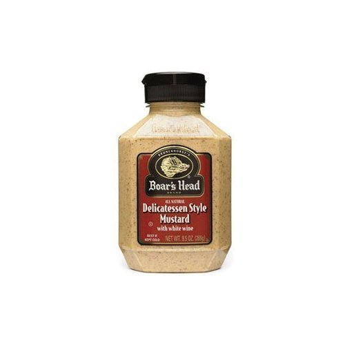 (Boar's Head delicatessen style mustard, 8.5 oz(Pack of 3))