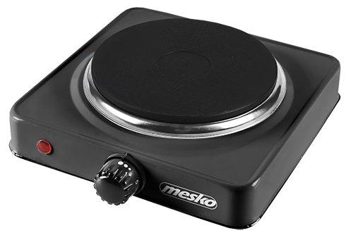 Mesko MS6508 Hornillo eléctrico 1000 W, Aluminio, Negro: Amazon.es: Hogar