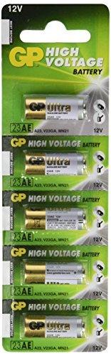 GP High Voltage Alkaline Batteries - 23 AE 12V (pack of 20)