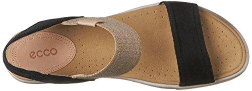 Ecco Footwear Womens Damara Ankle Gladiator Sandal Black Bkkso