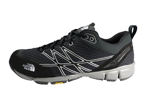 - The North Face Ultra Kilowatt Running Shoe - Men's TNF Black/Dark Shadow Grey, 8.0