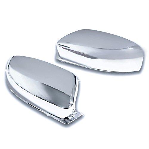 Cobra-Tek Chrome Door Mirror Cover Fits 2011-2014 Chrysler 300 Dodge Charger