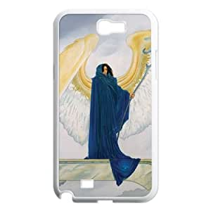 Samsung Galaxy N2 7100 Cell Phone Case White As She Is Angel JNR2001807