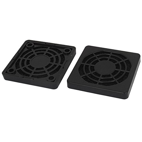 - Uxcell a15071500ux0720 PC Computer 50 mm Case Fan Dust Filter Guard Grill Protector Cover (Pack of 2)