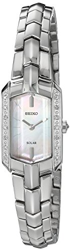 - Seiko Women's Japanese-Quartz Watch with Stainless-Steel Strap, Silver, 4 (Model: SUP329