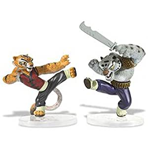 Kung Fu Panda Melee Figure - Tigress, Tai Lung