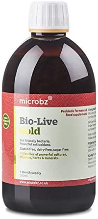 Bebida fermentada BIO-LIVE GOLD para restaurar la flora intestinal ...