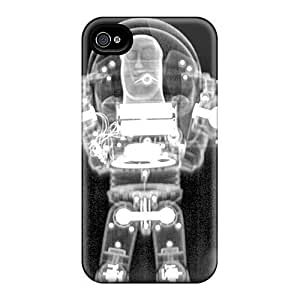 Case Cover For Apple Iphone 4/4S Hybrid PC Silicon Bumper Buzz Ray