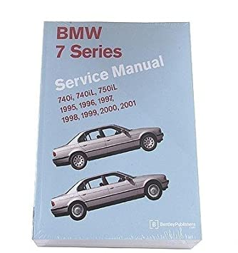 amazon com repair manual bm8000701 bmw 740i automotive rh amazon com 1998 BMW 740iL Custom 1999 BMW 750iL