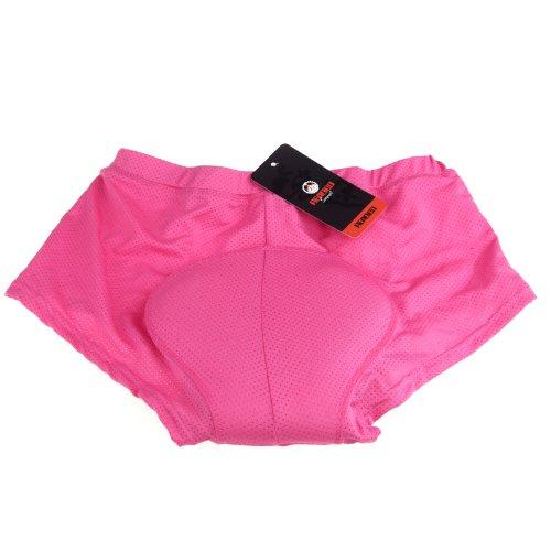 Lixada Damen Unterhose Radsport Underwear Pants Gel 3D gepolsterte Bike Fahrrad