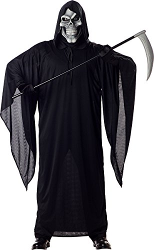 California Costumes Men's Grim Reaper Costume, Black, Medium