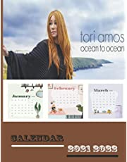 """TORI AMOS 2021 2022 PALNNER: QUOTE,TORI AMOS,PICTURE 8.5"""" x 11"""" IN 160 PAGES"""