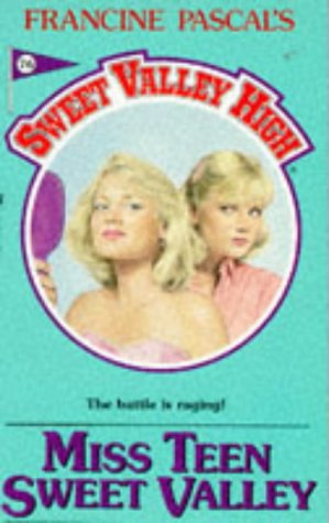 Full sweet valley high book series by kate william francine pascal miss teen sweet valley high fandeluxe Image collections