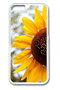 iPhone 6 Case - Sun Flower 3 Illustrators Series Protective Hard Clear Case Cover Skin For iPhone 6 (4.7 inch)