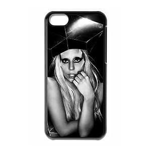 LJF phone case C-EUR Print Lady Gaga Pattern Hard Case for iphone 6 4.7 inch