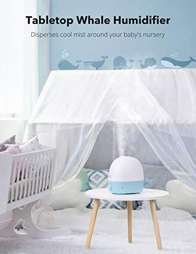 414P6VbW6jL. AC - Humidifiers For Babies, TaoTronics 3-IN-1 Humidifier With Essential Oil Diffuser And Night Light, 2.5L Cool Mist Humidifier For Bedroom, BPA-Free, 26dB Whisper Quiet, Easy To Clean