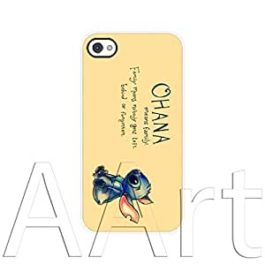 V18.1 Vintage Ohana Apple iPhone 4/4S case / Ohana means family iPhone 4 4S White Case - 4G AArt