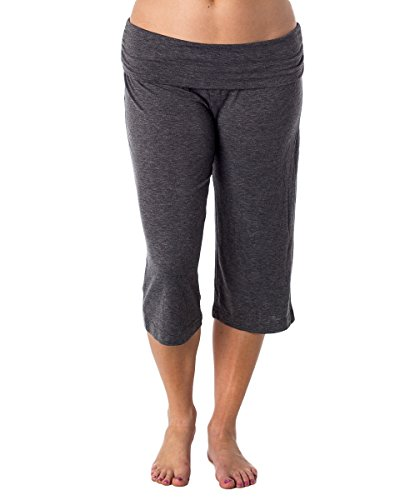Xhilaration Women's Gaucho Capri Sleep Pant Grey M from Xhilaration