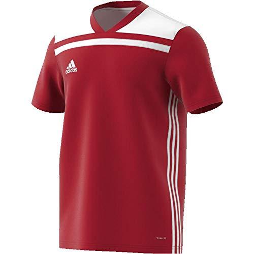 rosso Uomo Maglietta 18 Regista Jersey Adidas Rosso bianco n1xfYwWPAW