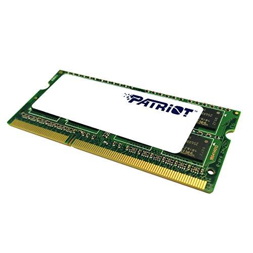 Patriot 1.35V 8GB DDR3 1600MHz PC3-12800 CL11 SODIMM Memory PSD38G1600L2S by Patriot (Image #1)