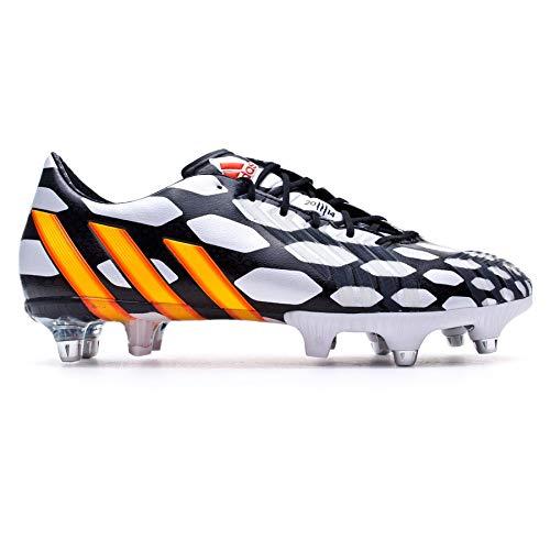 sports shoes 090d7 f9b24 ... authentic adidas predator instinct sg wc bota de fútbol blanca solar  gold negra 60492 e342f