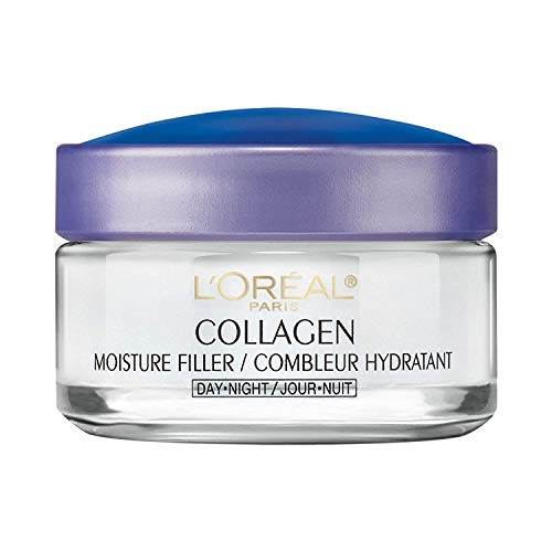 L'Oreal Paris Collagen Moisturizer Day and Night 1.7 Ounce, 50 g