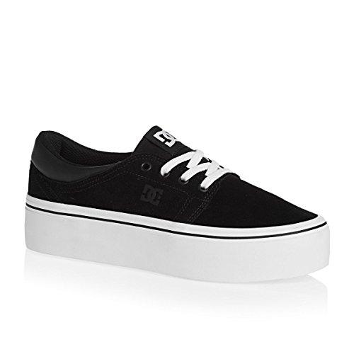 white Sneaker Black Shoes Dc Donna Noir 5fnXq
