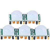 EMY 5 X HC-SR501 Adjust Ir Pyroelectric Infrared PIR Motion Sensor Detector Modules