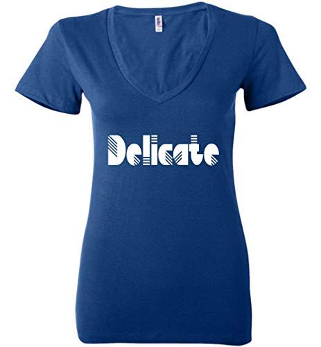 CLOTHINGFORFUN Taylor Delicate Ladies V-Neck -