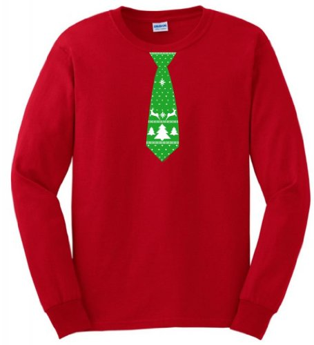 Merry Christmas Sweater Sleeve T Shirt