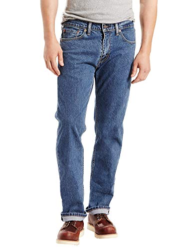 Levi's Men's 505 Regular Fit Jean, Stonewash - Stretch, 34 32 ()