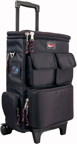 Gator Cases GK-LT25W Lightweight Rolling Backpack Case for 25 Note Micro-Controller/Laptop