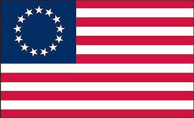 Betsy Ross Flag Vinyl Sticker Decal 3