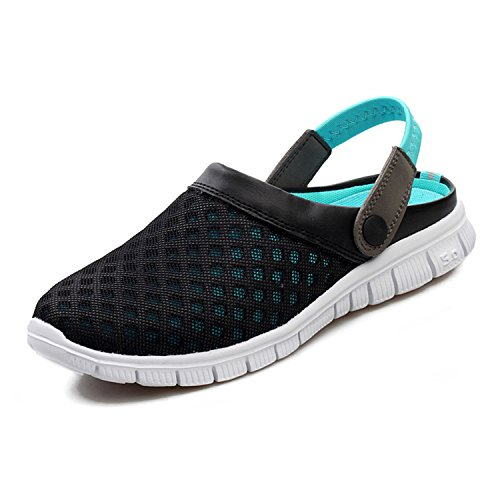 SAGUARO Mesh Garden Clog Shoes Sandals Indoor/Outdoor Slipper Unisex Women (Mesh Mens Sandals)