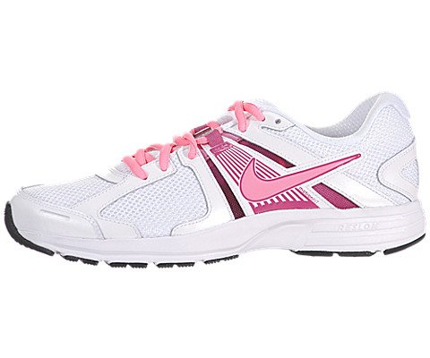 detailed look 11141 1247a Galleon - Nike Dart 10 Running Shoes - Women Athletic Sneakers White (8.5)  White Fusion Pink Silver Digital Pink