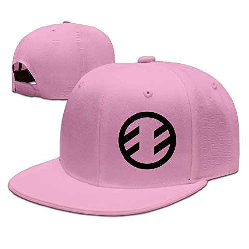 Fireflight Band Logo Men's Flat Baseball Cap Pink (Wendy Adams Family)