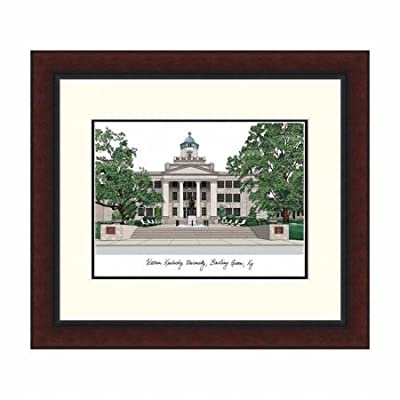 "Campus Images ""Western Kentucky University Legacy Alumnus Framed Lithographic Print"