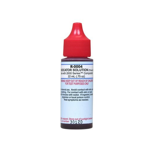 Ph Indicator (Taylor Replacement Reagents pH Indicator #4 - 3/4 oz.)