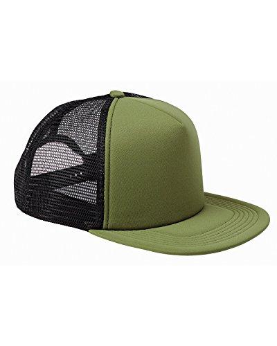 - BX FOAM FRONT TRUCKER CAP (OLIVE/BLACK) (OS)