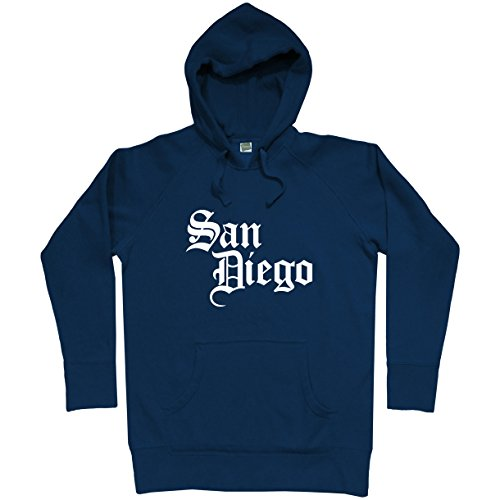 Smash Transit Men's San Diego Gothic Hoodie - Navy, XXX-Large (Padres Fleece Pullover Diego San)