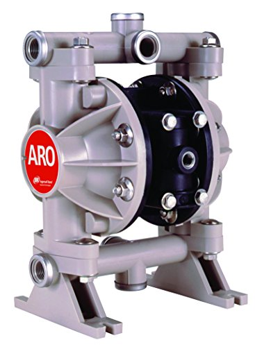 Aro Air Pumps - ARO 66605J-344 Polypropylene PTFE Multiport Double Diaphragm Pump, 13 gpm, 100 psi