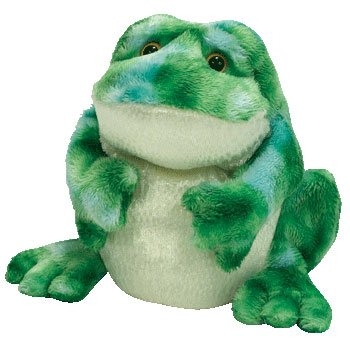 Amazon.com  TY Beanie Baby - MARSH the Bull Frog (BBOM May 2007 ... f842df1c119